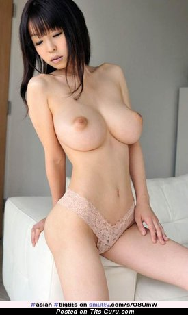 Image. Sexy naked asian with big tittes photo
