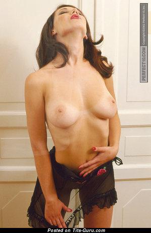 Sveta Tarasova - nude amazing girl with medium natural breast photo