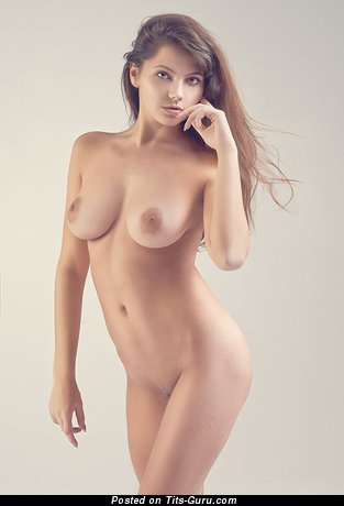 Image. Nude amazing girl with big natural boobies photo