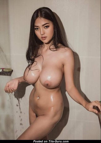 Yanisa Samohom - Appealing Nude Asian Brunette with Weird Nipples (Hd Sex Photo)