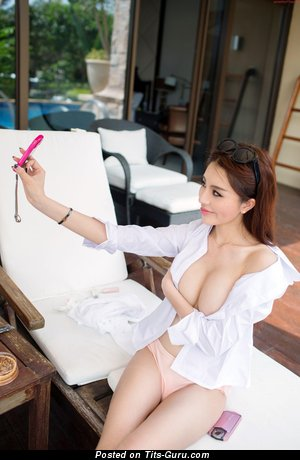 Image. Zhao Wei Yi - asian with big natural tits pic