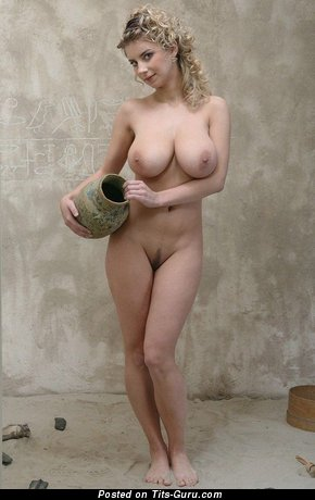 Superb Dame with Superb Naked Natural G Size Jugs (Xxx Picture)