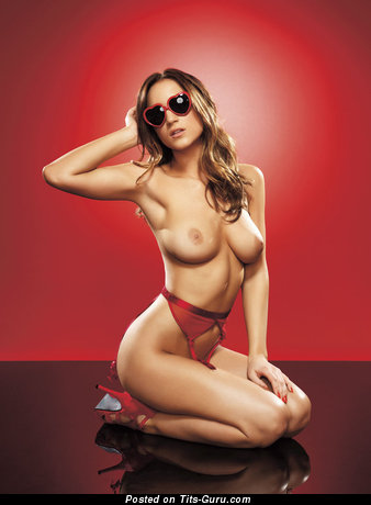 Image. Rosie Jones - hot woman with medium natural tits pic