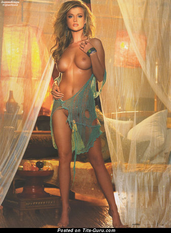 Image. Joanna Krupa - beautiful female with medium tittes photo