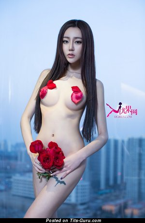 Wonderful Asian Lady with Wonderful Bare Real Average Melons (Hd Xxx Image)