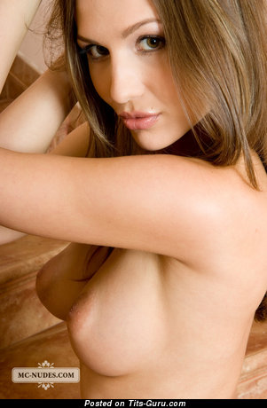 Image. Natasha - nude awesome girl with medium natural breast picture