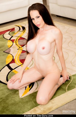McKenzie Lee: naked red hair with fake breast photo