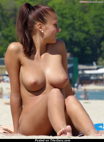 Image. Naked amazing female with medium boobies photo