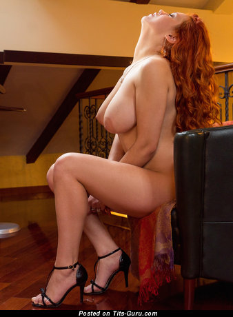 Lillith Von Titz - Grand Russian Red Hair with Grand Bare Real Dd Size Boobies & Inverted Nipples (Hd Xxx Pix)
