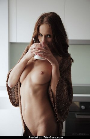 Image. Naked awesome lady with medium natural tittes pic