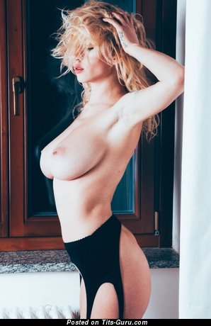 Image. Nude awesome woman with natural boobs photo