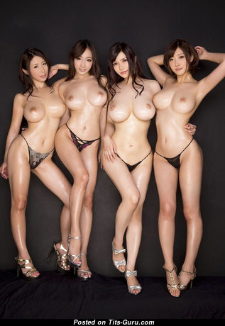Ayumi Shinoda, Kurea Hasumi, Anri Okita, Mizuno Asahi - Magnificent Wet & Topless Asian Playboy Strippers, Actress, Babe & Pornstar with Magnificent Bald D Size Tits, Long Nipples, Sexy Legs & Tan Lines in Bikini & Panties is Doing Fitness & Undressing (Sexual Picture)
