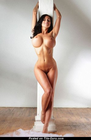 Image. Nude awesome female with huge fake boobies picture