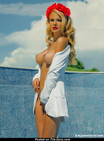 Nelly Georgevia - Delightful Undressed Playboy Blonde Babe (Hd Xxx Pix)