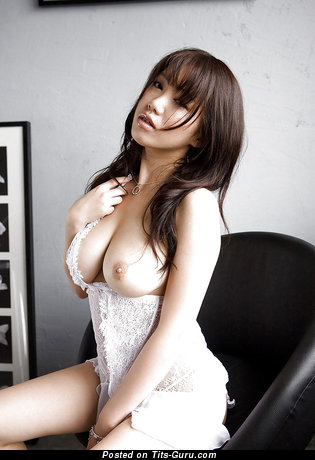 Image. Naked asian with big natural boobs image
