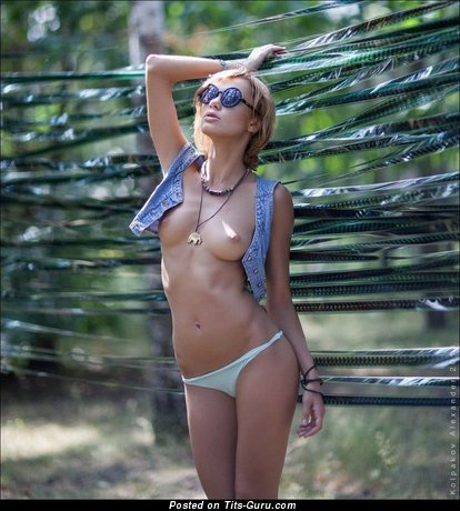 Image. Naked amazing girl with natural tittys photo