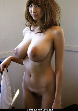 Image. Naked asian with big boob pic