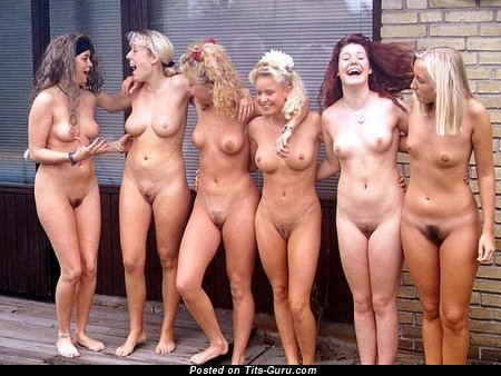 Amazing Moll with Amazing Exposed Real Average Tits (18+ Photoshoot)