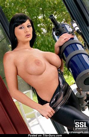 Allison Star - Handsome Girlfriend & Babe with Handsome Open Regular Titty (Porn Image)