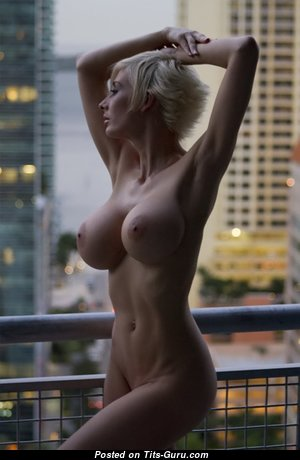 Marie Claude Bourbonnais - Alluring Canadian Babe with Alluring Naked Fake D Size Chest (Hd Sexual Photo)