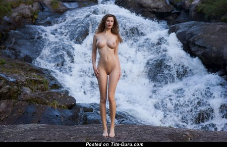 Image. Nude hot lady with big natural breast photo
