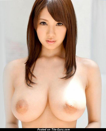 Good-Looking Gal with Good-Looking Defenseless Natural Full Tittes (Porn Picture)