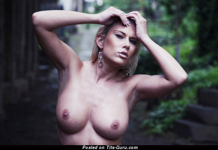 Image. Naked amazing lady with big breast picture