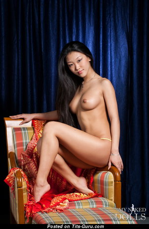 Image. Mariko - naked asian with medium boobs picture