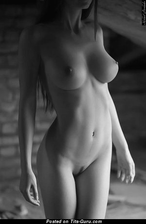 Image. Nude awesome female with big natural tits image