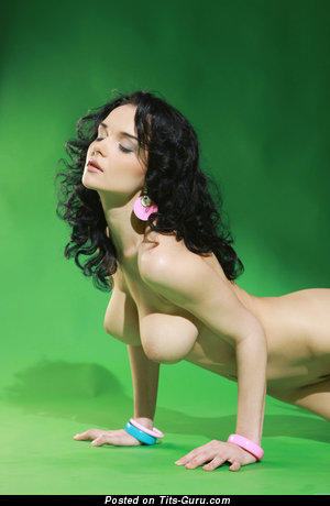 Image. Jenya D - nude hot girl with medium tittes pic