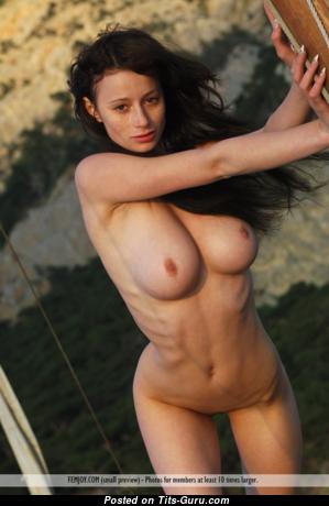 Abby (femjoy) - Fascinating Topless Honey (Hd Xxx Photoshoot)