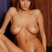 Karina - red hair with natural tittes image