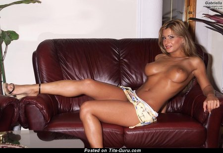 Image. Gabriella - nude blonde with natural boobies photo