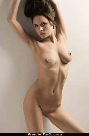 Image. Nude nice female with medium natural boobies image