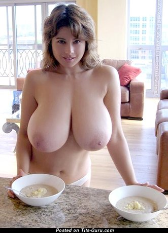 Image. Nude hot female with huge natural tits photo