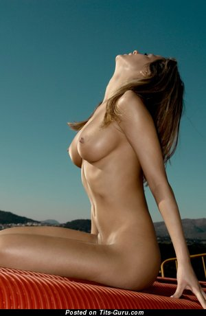 Claudia A - Exquisite Chick with Exquisite Exposed Normal Busts (Sexual Pic)