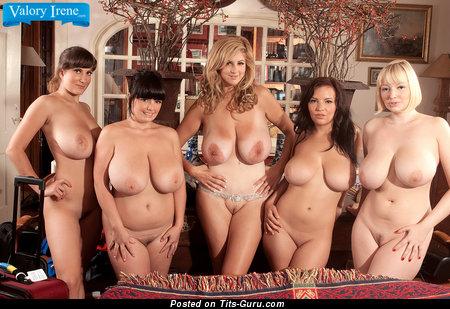 Image. Valory Irene - naked amazing woman with big natural boobs photo