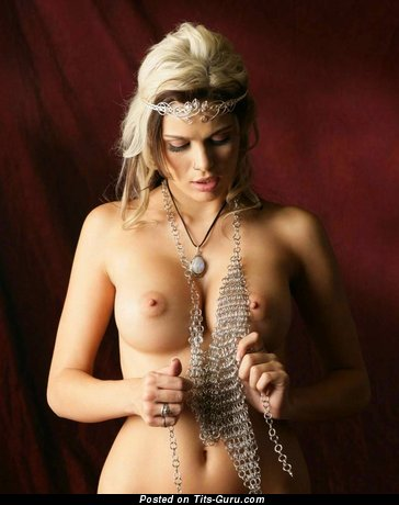 Amazing Blonde with Amazing Nude Pint-Sized Breasts is Undressing (Hd Xxx Photo)