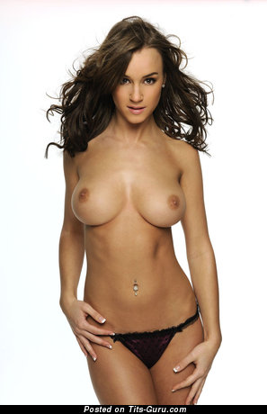 Rosie Jones - Nice English, British Brunette Babe with Nice Exposed Real Average Jugs, Tattoo & Piercing (Hd 18+ Pix)