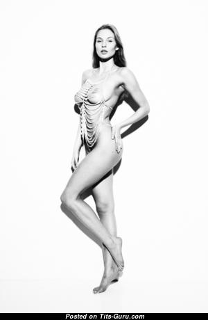Karolina Szymczak - Exquisite Topless Polish Blonde with Exquisite Nude Natural Boobies (Porn Wallpaper)