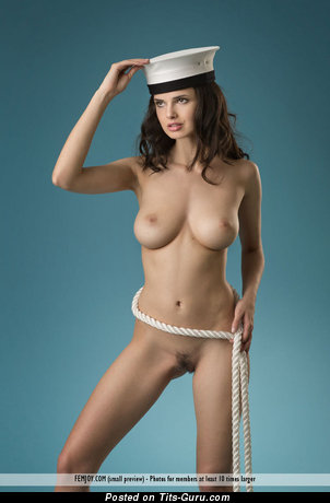 Image. Jasmine Throw - naked beautiful lady with big natural boob photo