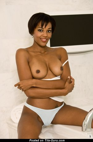Image. Awesome female with medium natural boobies image