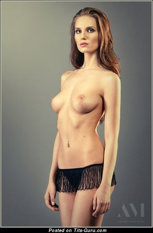 Image. Naked awesome girl with medium natural tittys picture