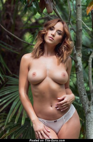 Rosie Jones - Exquisite English, British Bimbo with Exquisite Naked Natural Tight Melons, Piercing & Tattoo (Hd 18+ Wallpaper)