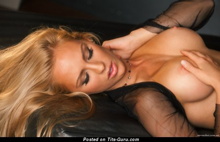 Image. Sydney Barlette - naked blonde with big breast photo