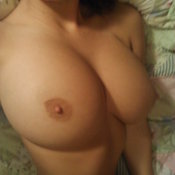 Wonderful lady with big boobs pic