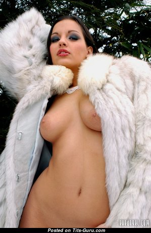 Eve Angel - Marvelous Topless Hungarian Brunette Pornstar with Marvelous Open Real Boobie (Sex Photo)