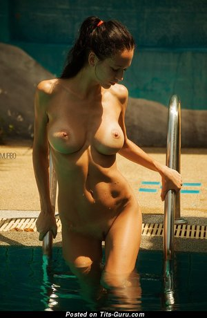 Anastasia Martzipanova - Alluring Russian Lady with Alluring Bald D Size Knockers (Amateur Hd Xxx Image)