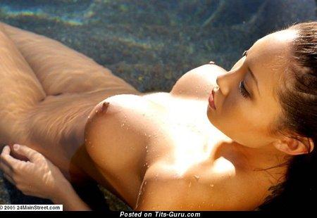 Image. Amazing female with big fake tittys image