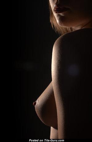 Pretty Topless & Glamour Honey (Porn Wallpaper)